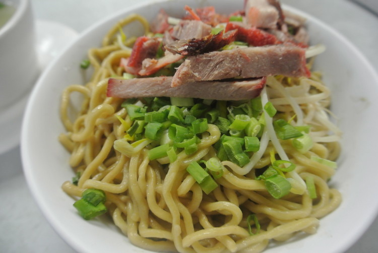 The Saimin noodles from the famous Sam Sato's in Wailuku.
