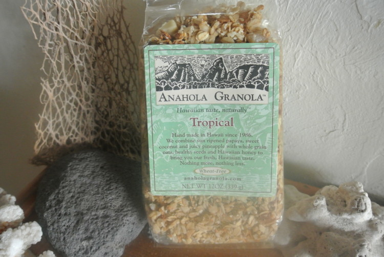 The Tropical flavour granola from Anahola Granola