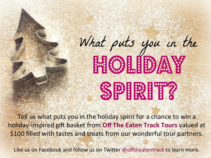 Poster for #inthespirit campaign 2013